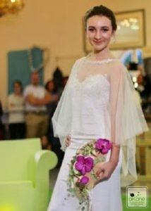 défilé.. Bouquet de mariée tendance...